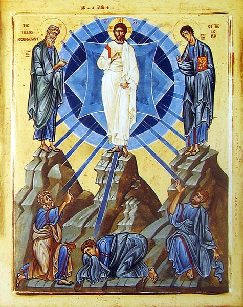 Hoy, 6 de agosto, la Iglesia Ortodoxa celebra la transfiguración de nuestro Señor Jesucristo.