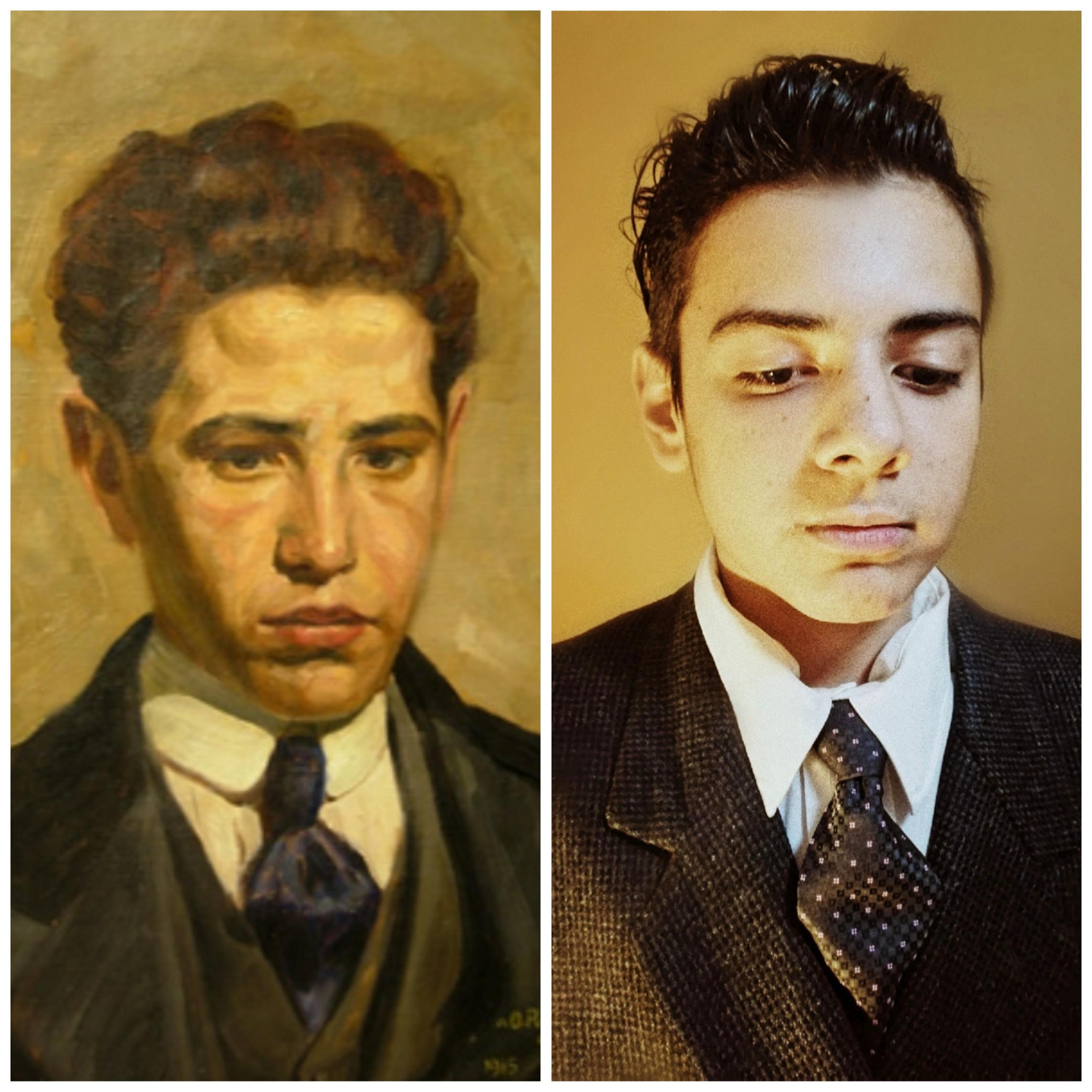 En 4to año los estudiantes en la materia de Artes Visuales (Prof. Gisela Garziera), focalizan su atención en el desarrollo histórico del arte y sus diferentes procesos de legitimación.