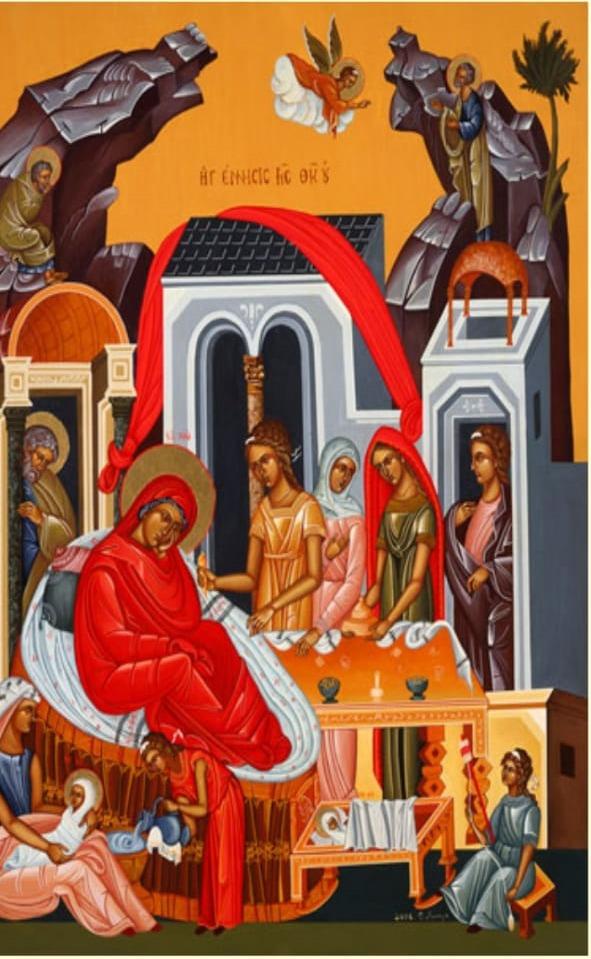 Hoy en la Iglesia celebramos el nacimiento de la Santisima Virgen María. Verdaderamente es justo el celebrarte ¡Oh Madre de Dios ! ¡Feliz día a todas las Marías!
